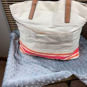 Croft & Borrow Canvas Bag